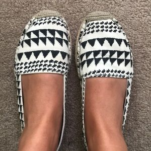 American Eagle Aztec Printed Espadrille Shoes